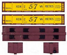HEINZ PICKLE CAR wood-era On30 scale printed sides, ends, roof