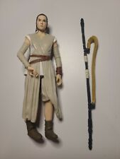 Star Wars Black Series 6 Inch Rey (Jakku) The Force Awakens #2, NM