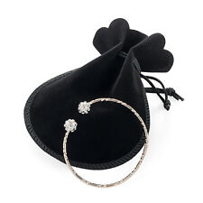 Rose Gold Adjustable Ball Bangle Bracelet Ladies Fashion Jewellery with gift bag