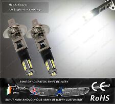 LED SMD H1 433 Automotive Car Xenon White 6000k Driving Fog Light Bulbs 12V