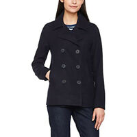LEVIS Double Breasted Peacoat Jacket Coat Nightwatch Navy Blue Women's Medium