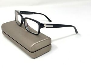 Bvlgari 3014 501 54 [] 17 - 140 Eyeglasses Frame BLACK w/ Case Unisex