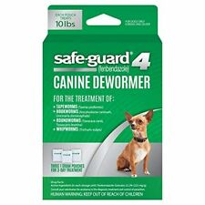 Safe-Guard Canine Dewormer for Dogs, 3 Day Treatment