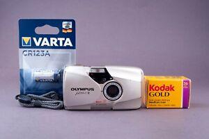 Olympus Mju II Stylus Epic DLX 2,8/35mm Point & Shoot 35mm Film Camera
