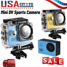Full HD 1080P 4K Waterproof Digital Video Camera Sport Action Camcorder