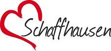 """Auto Aufkleber """" SCHAFFHAUSEN """" Sticker Stadt Schweiz ca.7x16cm konturgeschn."""