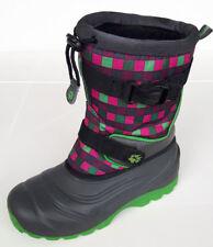 Jack Wolfskin Kids Snow Boots Rocker Stiefel Gr. 34 wNeu grün/pink NP 64,99