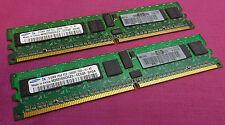 1GB KIT SAMSUNG m393t6654cz3-cccq0 ecc PC2-3200R 240-p 400 MHz DDR2 memoria del server