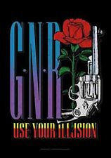 More details for guns n' roses use your illusion large fabric poster / flag 1100mm x 750mm (hr)