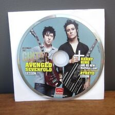 GUITAR WORLD Avenged Sevenfold lessons Kerry King & Slayer 2007 Atreyu DVD
