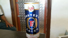 rare vintage 500ml fosters lager  beer tin can