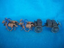 CIVIL WAR Union 4 Horse Limber w/ Ammo caisson, CLASSIC TOY SOLDIERS 1/32