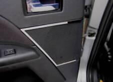 D Ford Mondeo MK III Chrom Rahmen für Lautsprecher hinten/ groß - Edelstahl