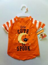 Martha Stewart PETS Fashion Dog Apparel Size M Too Cute to Spook T-Shirt Costume