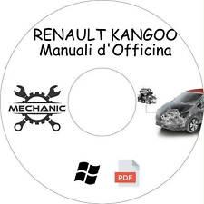 RENAULT KANGOO - Guida Manuali d'Officina - Riparazione e Manutenzione!