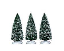 Lemax Bäume 3er Set Weihnachtsdorf Baum Dekobaum Fichte Tanne Weihnacht 34666