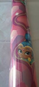 Nickelodeon SHIMMER & SHINE Holiday GIFT WRAP Christmas WRAPPING PAPER L@@K!