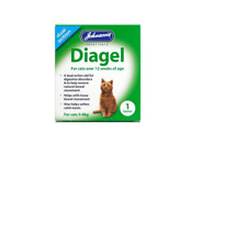 JOHNSONS DIAGEL Dual Action for Cats 3-6 kgs or 12 weeks of age (1 sachet)