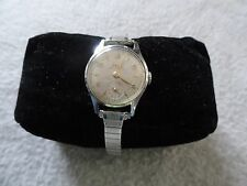 Vintage Swiss Made Wind Up Doxa Ladies Watch - Stretch Band