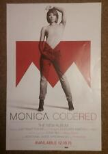 """Monica - Code Red US 11 x 17"""" US promo poster 12-18-15 VG+ condition Lil Wayne D"""