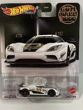 Hot Wheels Koenigsegg Agera R White Supercar Premium Gum Ball 3000 Grl68