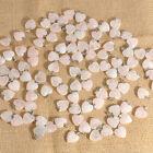 Natural Crystal Gemstone Healing Chakra Reiki Pendant Bead Heart Stone Wholesale