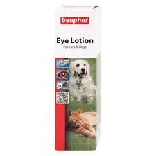 Beaphar Dog Cat EYE LOTION Cleaner Cleansing Liquid Sterile Saline Solution 50ml