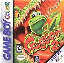 Frogger 2, Harry Potter, and Battleship 3 Games for Gameboy Color