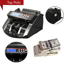 NEW! MONEY BILL CASH COUNTER BANK MACHINE CURRENCY COUNTING UV & MG COUNTERFEI T