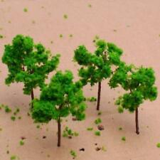 25pcs Model Trees Train Railway Park Diorama Layout Scene HO N Z Scale 60mm