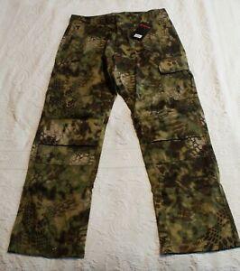 Kryptek Men's Stalker Camo Hunter Pants SV3 Green Size XL NWT