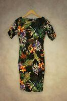 AX Paris Multicoloured Floral Dress Size 10