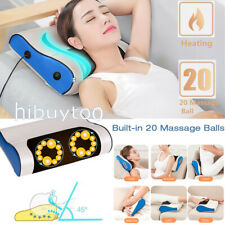 Recharge Shiatsu Kneading Massager Pillow with Heat for Neck Shoulder Back Leg