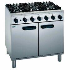 More details for commercial 6 burner range cooker oven lincat slr9/p
