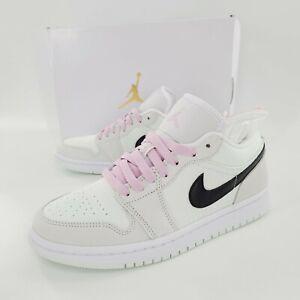 Nike Air Jordan 1 Low SE Womens Barely Green Shoes CZ0776-300 Size 8 NIB
