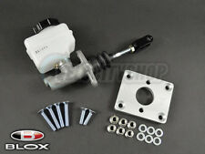 Blox Compact Brake Master Cylinder and Booster Elimi-Plate Combo (Silver)