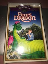 Walt Disney's Pete's Dragon Clamshell VHS Video Tape Release Mickey Rooney