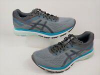 ASICS Women's GT-1000 7 (D) Size US 11 Running Shoes 1012A029 Gray / Teal