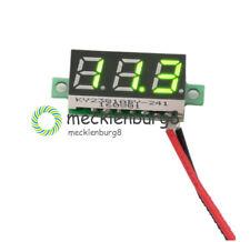 Green DC 3-30 V 2 Wire LED Digital Panel Meter Voltage Voltmeter Auto Motor