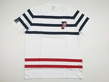 Polo Ralph Lauren White Striped P-wing Performance T-shirt Size Large L