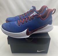 Nike Mamba Focus Kobe Bryant Basketball Shoe Blue White AJ5899-400 Men's Sz 11.5