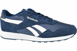 Reebok Royal Ultra BS7967 sneakers Navy Blue Mens chamois leather|textile sz 10
