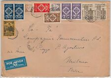 PORTUGAL  -  POSTAL HISTORY : AIRMAIL Cover to ITALY 27.06.1940 - ALA LITORIA