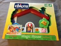 Chicco Pop-Up Magic Interactive House / Zauber-Spielhaus mit Licht- ab 3 Monaten