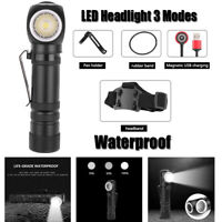 XHP50 LED Headlight Magnetic USB Rechargeable Outdoor Headlamp Flashlight Torch
