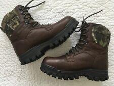 Wolverine 03892 Brown Camo Gore-Tex Waterproof Outdoor Boots Men's Us 8.5 M