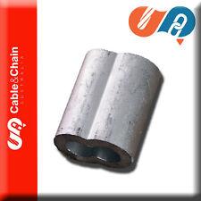 20 X 4mm Aluminum Swage/ferrule (Hourglass)