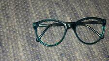 Brille Brillengestell Kunstoff Retro Horn Panto Brille Türkis