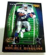 EMMITT SMITH STEVE YOUNG 1996 Pinnacle DOUBLE DISGUISE Insert #19 49ers COWBOYS