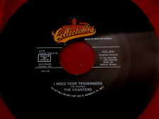 CHANTERS~ I NEED YOUR TENDERNESS~ OVER THE RAINBOW~ UNPLAYED STORE ~ DOO WOP 45
